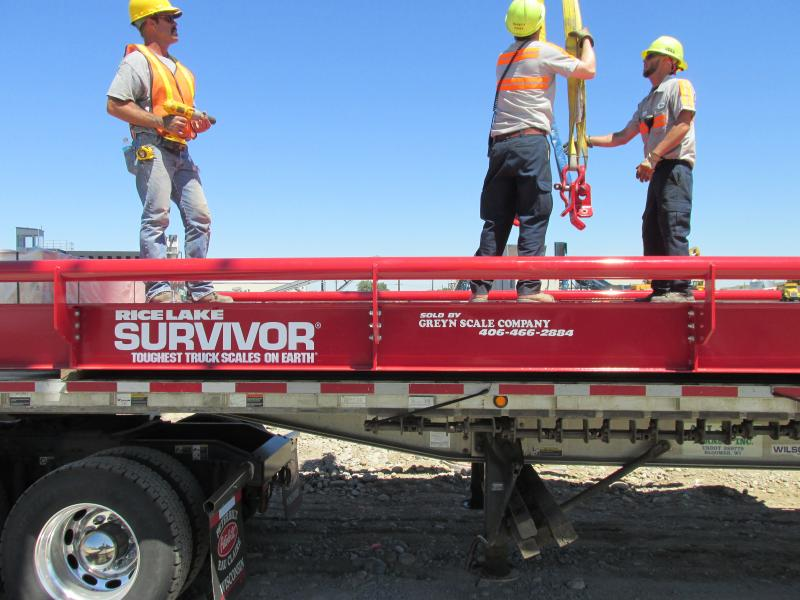 Survivor Truck Scales Sold By Greyn Scale Company