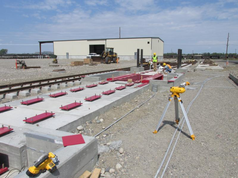 Rail Scale Installation